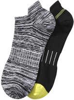 Joe Fresh Men's Cushioned Sport Sock, Charcoal (Size 10-13)
