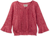 Lucky Brand Bell Sleeve Peasant Top with Lace (Little Girls)