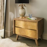 Graham and Green Midas Brass Bedside Table