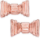 Kate Spade 14k Rose Gold-Plated Bow Stud Earrings