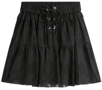 IRO Mini Skirt with Drawstring Waist
