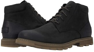 Sorel Madson II Chukka Waterproof (Black) Men's Boots