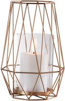 Torre & Tagus Diamond Metal Hurricane Candleholder