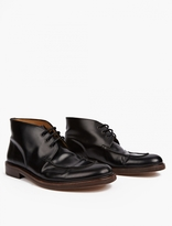 A.P.C. Black Leather Corentin Boots