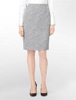 Calvin Klein Abstract Textured Suit Skirt