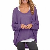 Menglihua Womens Outumn Casual Oversized Loose Baggy Pullover Tunic Shirt Top Blouse 2XL