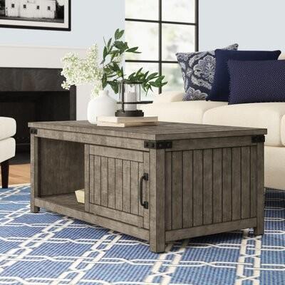 Three Posts Fitchett 4 Piece Coffee Table Set Shopstyle