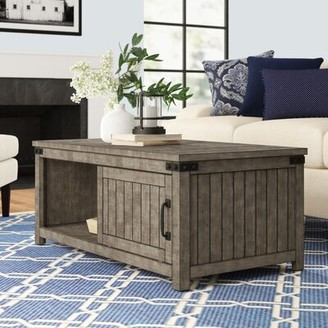 Three Posts Kemmerer Coffee Table with Storage