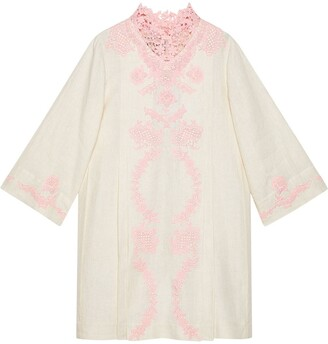 Gucci Lace Kaftan Dress