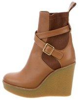 Chloé Platform Wedge Ankle Boots