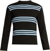 Acne Studios Ker Stripe crew-neck sweater