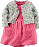 Carter's 2-pc. Floral Dress Set - Baby Girls newborn-24m