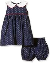 Rachel Riley Baby-Girls Anchor Peter Pan Collar Dress