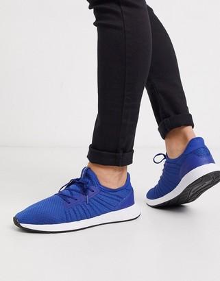 Jack and Jones mesh sneaker in blue