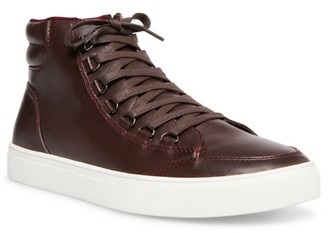 Steve Madden Ribbed High-Top Sneaker