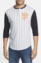 Red Jacket Men's 'San Francisco Giants - Double Play' Jersey Henley