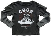 Rowdy Sprout Youth Boy's CBGB Double Layer Tee
