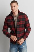 American Eagle Outfitters AE Plaid Shirt Jacket
