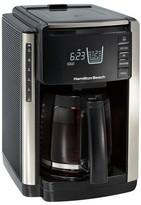 Hamilton Beach TruCount 12 Cup Programmable Coffee Maker - Black - 45300