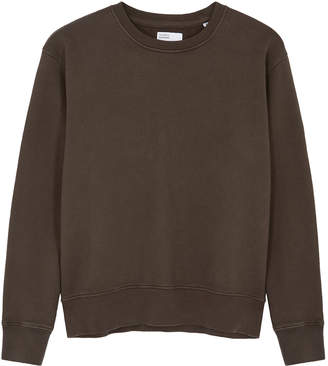 Colorful Standard COLORFUL STANDARD Brown Cotton Sweatshirt