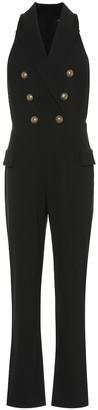 Balmain Stretch-crepe jumpsuit