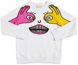 Stella McCartney Printed Sustainable Cotton Sweatshirt