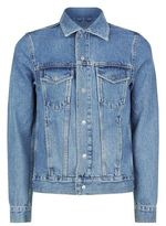 Sandro Snap Denim Jacket