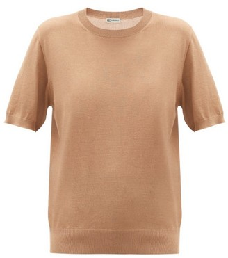 Connolly - Cashmere-blend Short-sleeved Sweater - Tan