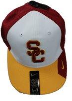 Nike Southern California USC Trojans Flex Fit Cardinal/White/Gold Hat 4/7