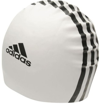 adidas Headwear Silicone Logo Swim Cap