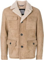 Lanvin short shearling coat