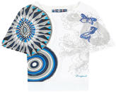 Desigual Printed T-shirt with lace