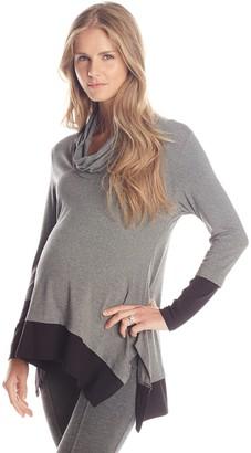 Maternal America Women's Maternity Layered Top