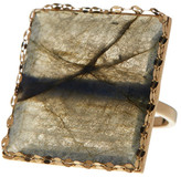 Lana 14K Gold Gloss Ring - Size 7