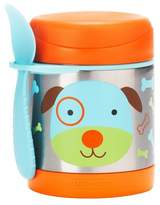 Skip Hop Zoo Little Kids & Toddler Insulated Stainless Food Jar & Utensil - Dog