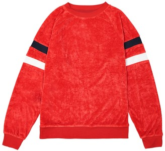 La Redoute Collections Crew Neck Towelling Sweatshirt, 10-16 Years