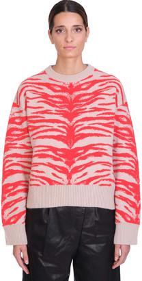 Laneus Knitwear In Powder Wool