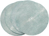OKA Faux Shagreen Placemats, Set of 4