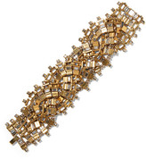 Erickson Beamon River Song Gold-plated Crystal Bracelet - one size