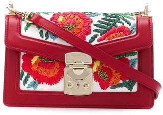 Miu Miu Embroidered Floral Tote Bag