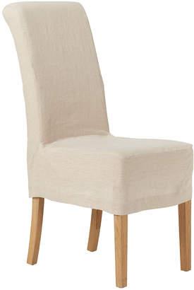 OKA Guizhou Linen Slip Cover For Echo Dining Chair