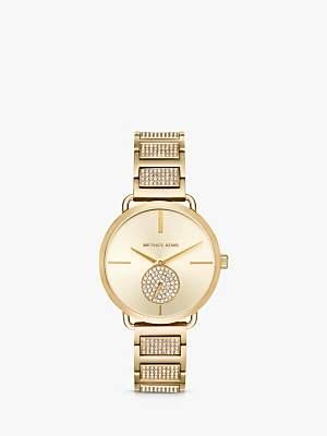 Michael Kors Women's Portia Crystal Bracelet Strap Watch