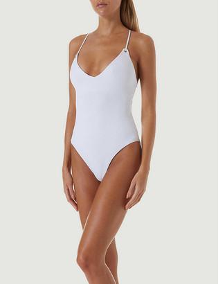 Melissa Odabash Catalina lace-up back swimsuit