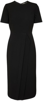 Roland Mouret Primley stretch-crApe midi dress