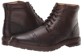 Florsheim Estabrook Cap Toe Boot (Brown Crazy Horse) Men's Lace-up Boots