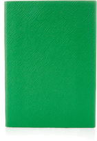Smythson Soho leather notebook
