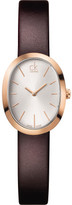 Calvin Klein Incentive Lesather Strap Watch