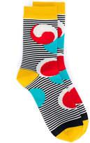 Henrik Vibskov Fish Don't Sleep striped socks