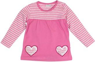 Salt&Pepper Salt and Pepper Baby_Girl's B Longsleeve Princess Stripe T-Shirt