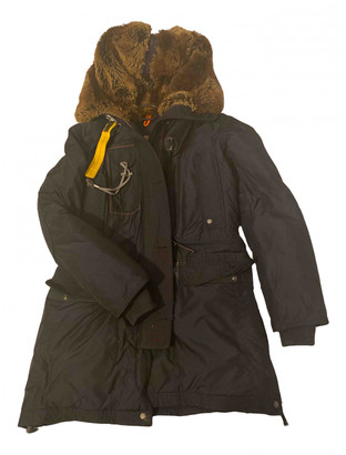 Parajumpers Navy Cotton Coats